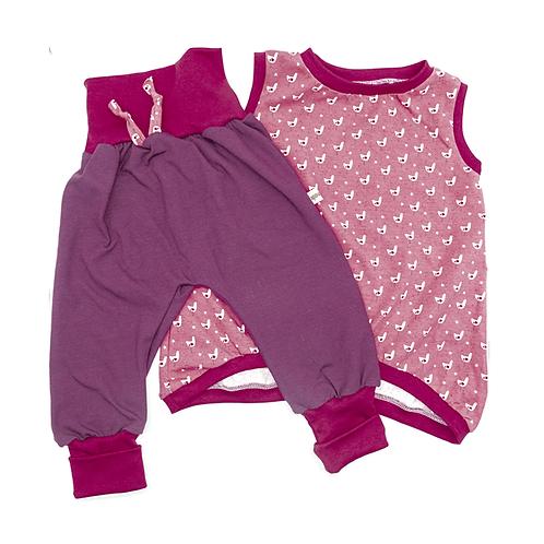 Ensemble tunique et pantalon évolutif