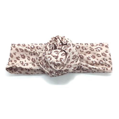 Headband tissus léopard