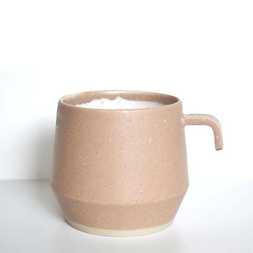 Tasse/ mug en grès rose