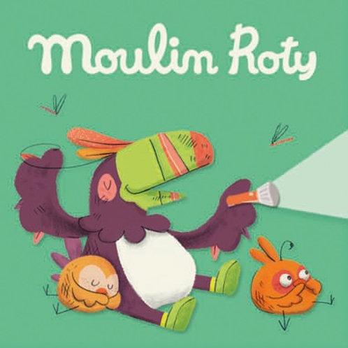 Lot de 3 disques pour lampe à histoires Dans la jungle Moulin R