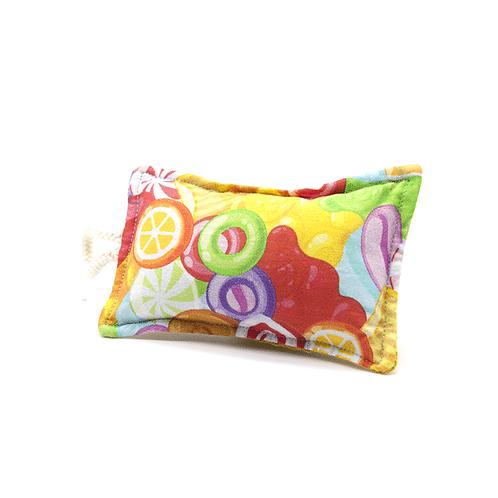 Éponge lavable bonbons colorés