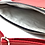 Thumbnail: Sac bandoulière à rabats rouge