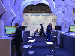 MWC Booth Interior