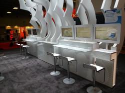 RSA Booth Interior.