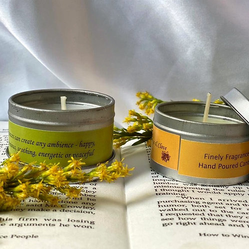 MINI DOUBLE TROUBLE - SCENTED CANDLES