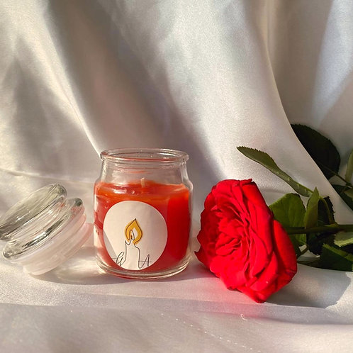 ROSE -  SCENTED CANDLE