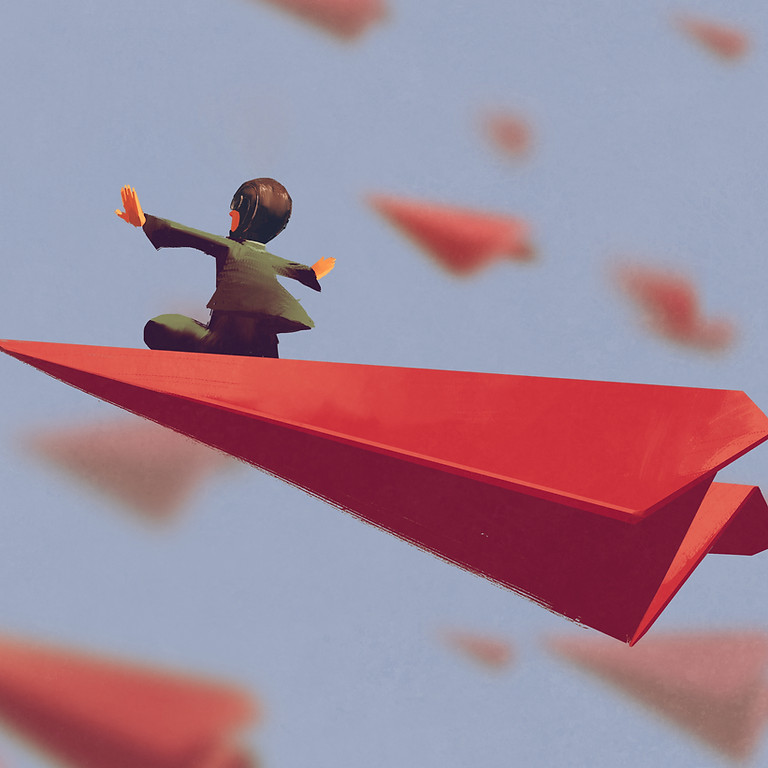 Summer; 2021: Origami & Paper Airplanes in person with Jason