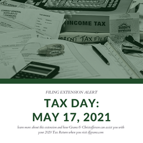 Tax Day for individuals extended to May 17: Treasury, IRS extend filing and payment deadline