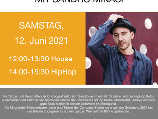 House and HipHop Workshop with Sandro Minasi