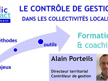 Formation et Coaching le contrôle de gestion dans les collectivités locales par A. Porteils, les 21,