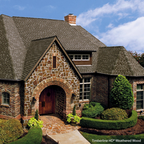 Timberline HD® Shingles - Weathered Wood