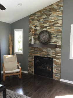 Fireplace Add and floor updated