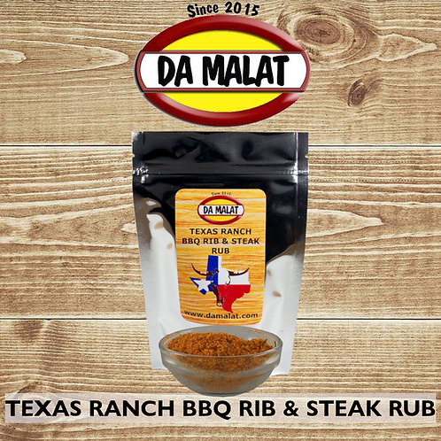 Texas Ranch BBQ Rib & Steak Rub