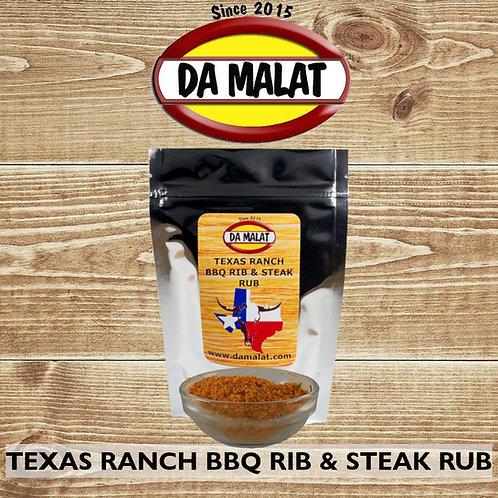 Texas Ranch BBQ Rib & Steak Rub
