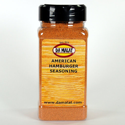 American Hamburger Seasoning 250g Shaker Jar
