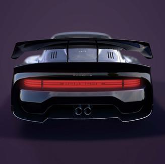 Projet personnel - Porsche 911 Body kit