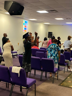 Sunday Morning worship