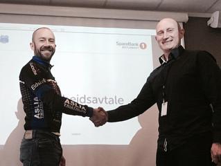 SpareBank 1 Østlandet blir hovedsamarbeidspartner for Rena Triathlon
