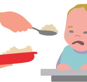 """""""Jetzt iss endlich, zum Donnerwetter noch einmal!"""" Zwang zum Essen ist immer schädlich!"""