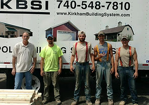 Kirkham Building System Construction Crew Members