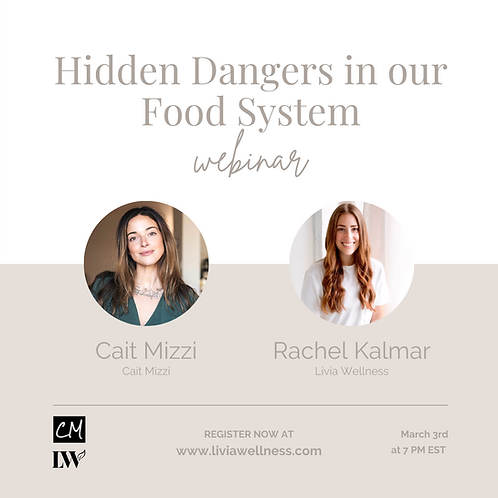 Hidden Dangers in our Food System
