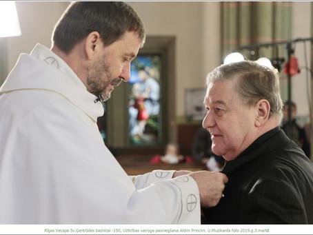 """Aldis Princis: """"Kad sāku iet baznīcā, ļoti pārvērtēju savas vērtības"""""""
