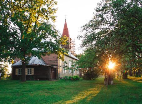 Vasaras noslēgumā tradicionālais brīvdabas dievkalpojums