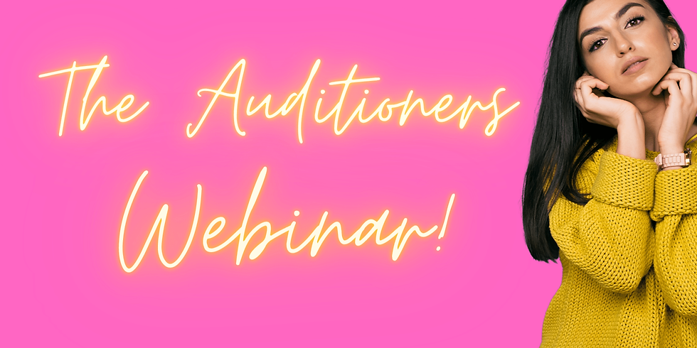The Auditioners Webinar