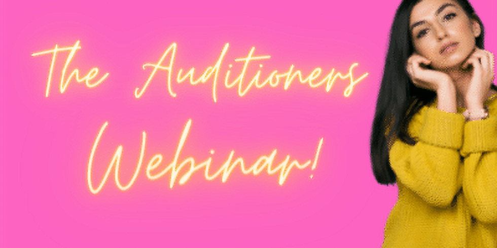 The Auditioners FREE Webinar
