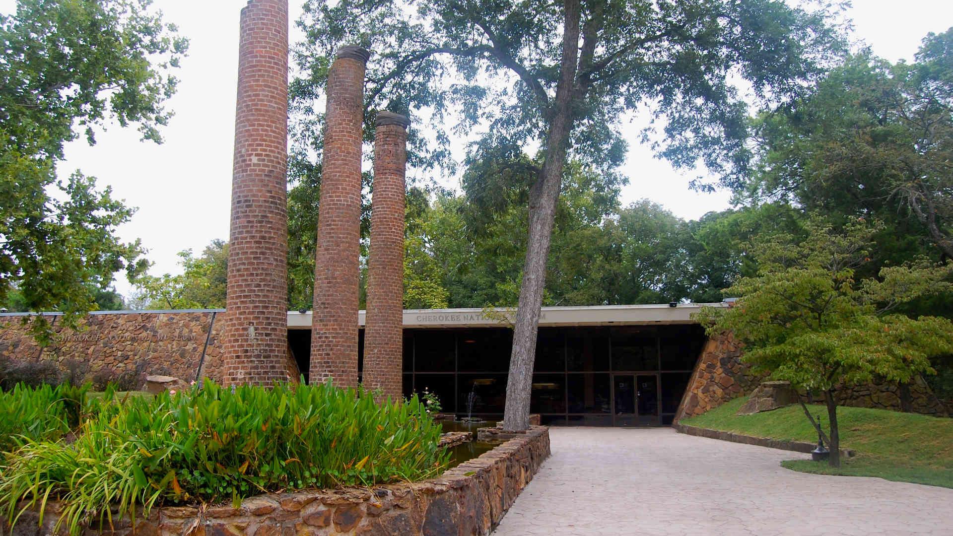 trail of tears museum enteryway