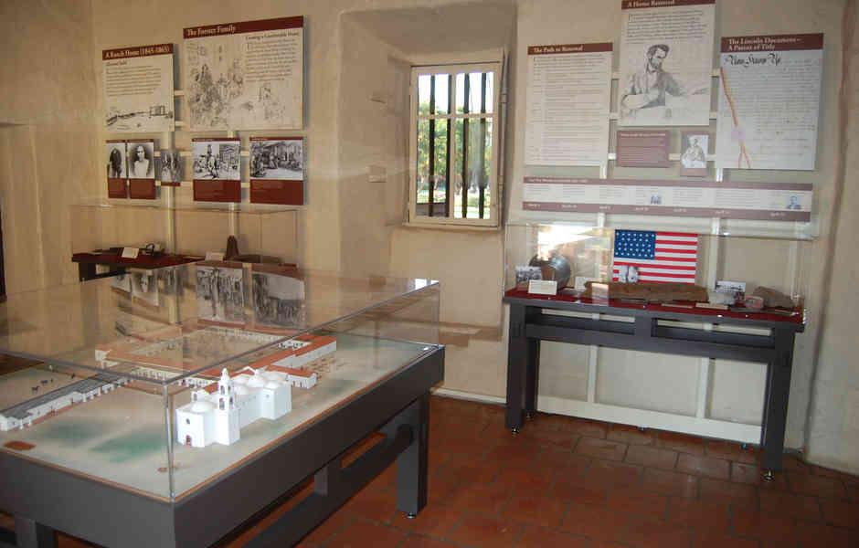 mission san juan capistrano exhibit artifacts