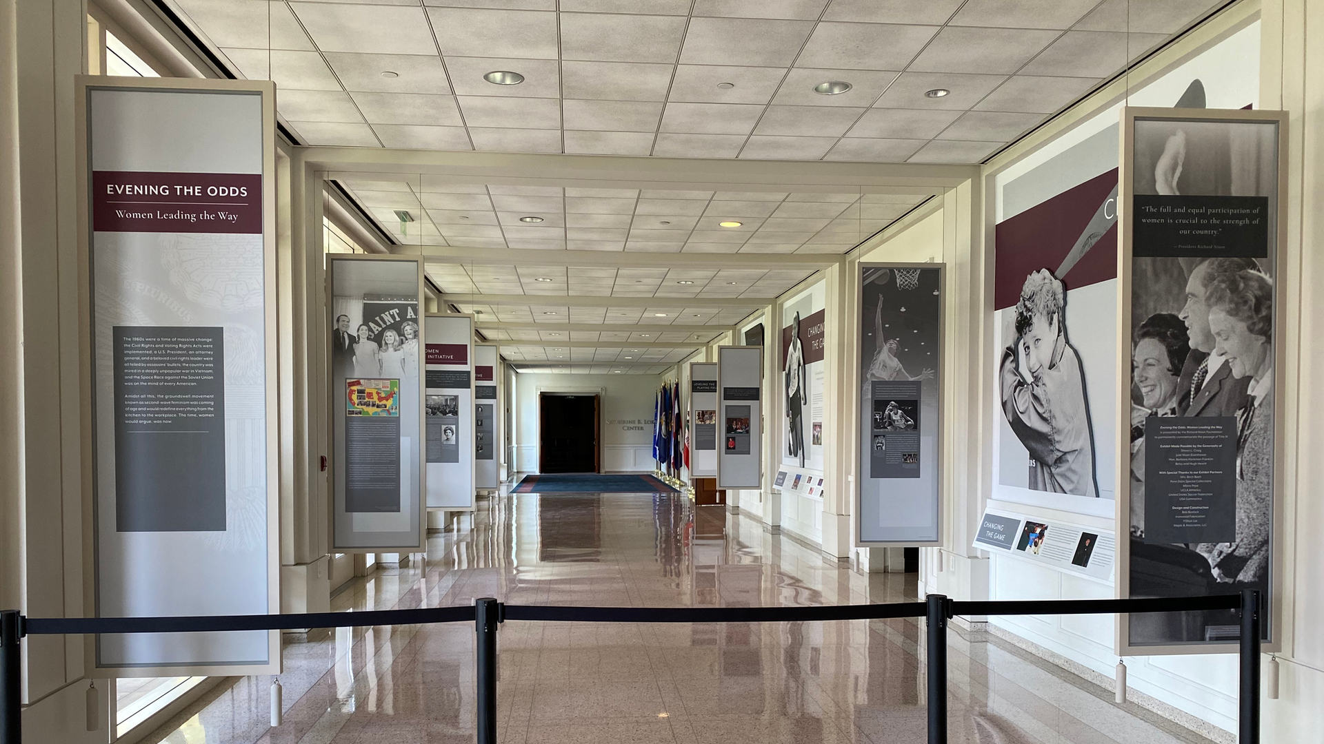complete title ix museum exhibit at the richard nixon presidential library