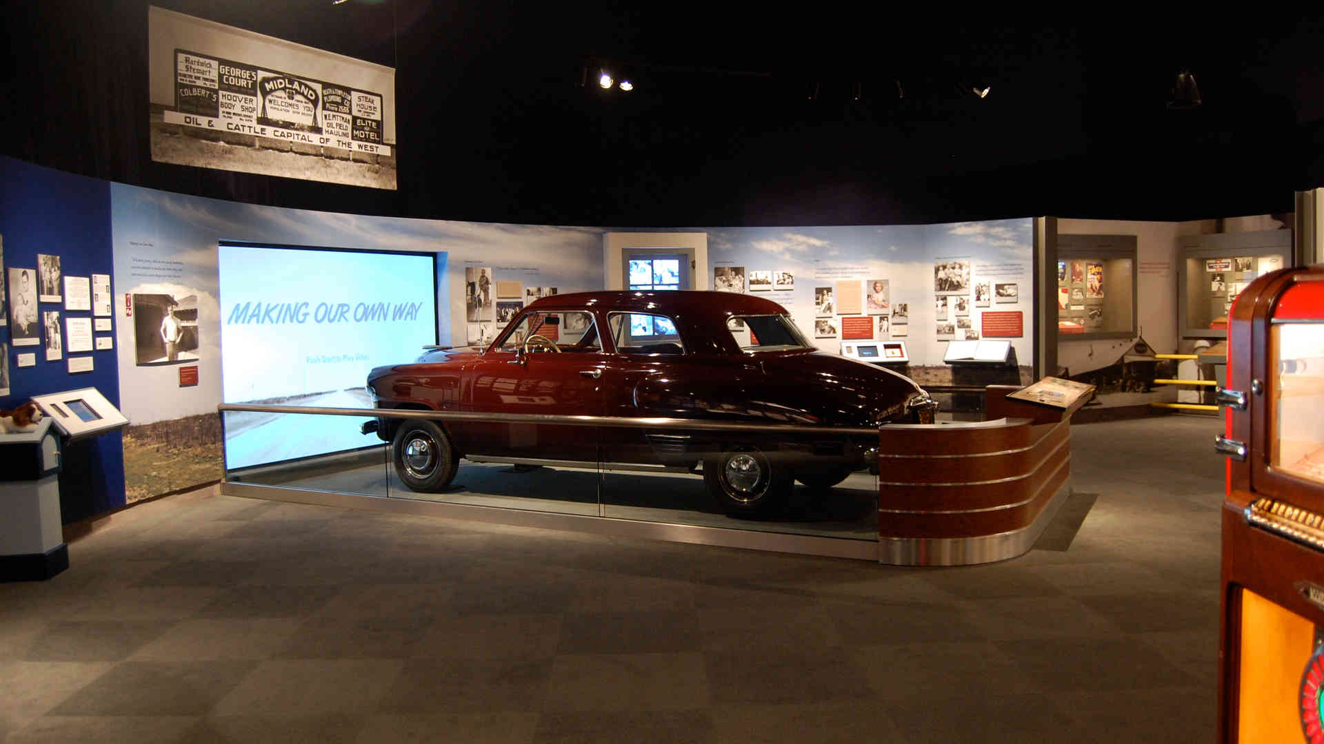 george bush library and museum family car