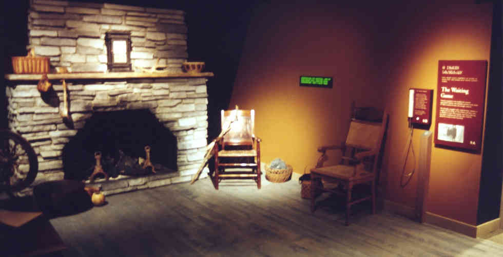 trail of tears museum exhibition environment