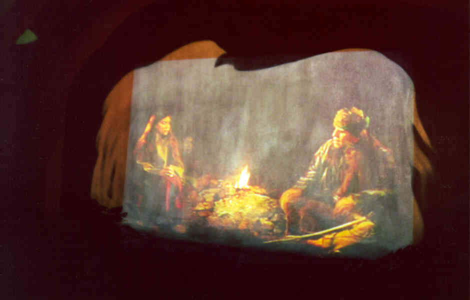 trail of tears museum exhibit rear projection a/v