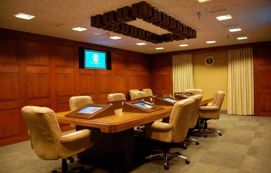 george bush library and museum situation room exhibit