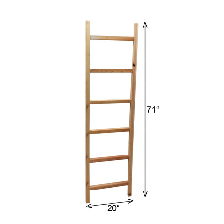 "6' x 20"" Cedar Ladder Trellis"