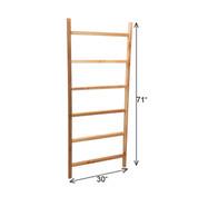 "6' x 30"" Cedar Ladder Trellis"