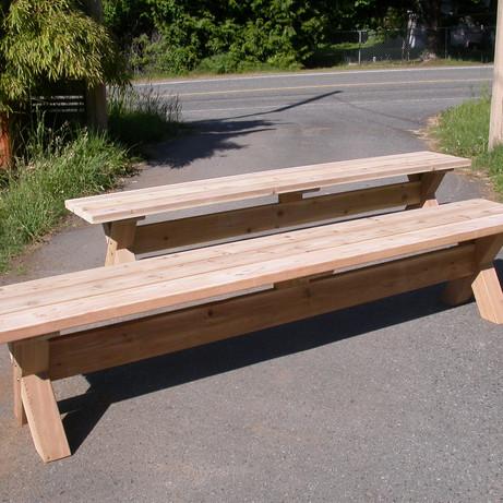 Cedar & Fir Benches
