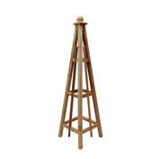 """5' Cedar Obelisk, 16"""" Base"""