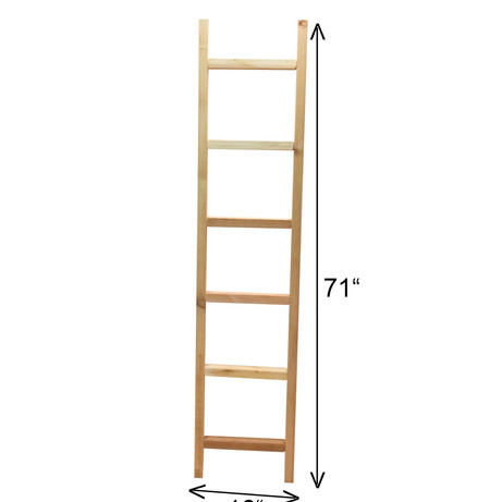 "6' x 16"" Cedar Ladder Trellis"