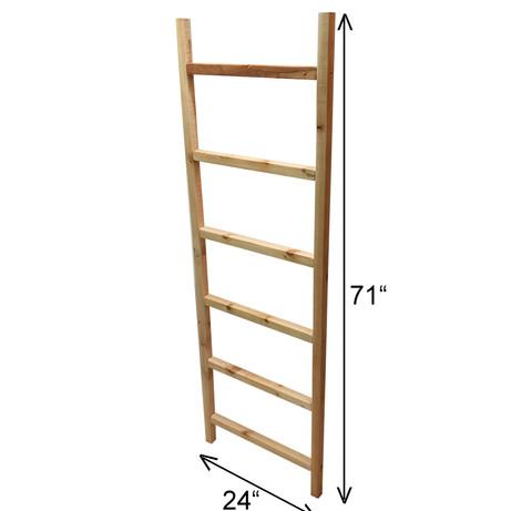 "6' x 24"" Cedar Ladder Trellis"