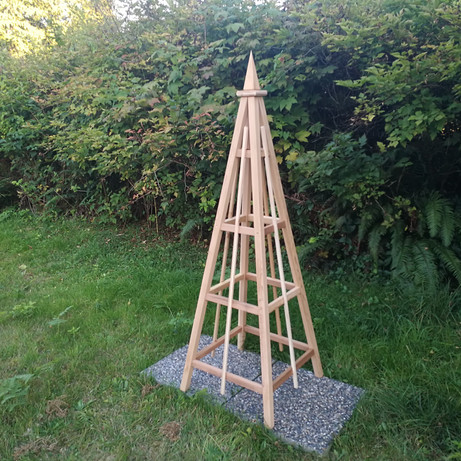 6' Cedar Obelisks, Spire Finial