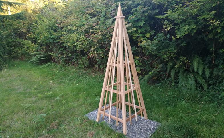 6' Cedar Obelisk, Spire Finial