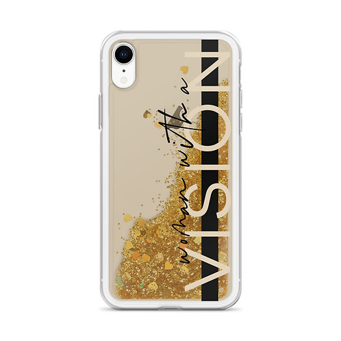 Woman With A Vision Liquid Glitter Phone Case