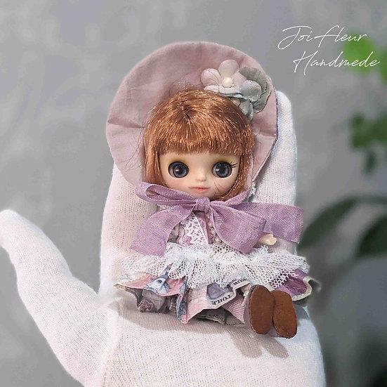 【プチブライス+お洋服】No.2 フレンドリージラフさんカスタム