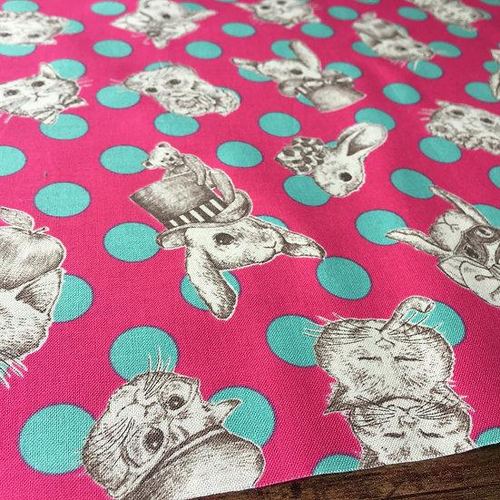 【生地】WonderDrop ピンク(Saint-Germain Pink/サンジェルマンピンク)