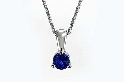 14KW Ceylon Sapphire Pendant