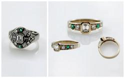 Emerald Cut Diamond B&A
