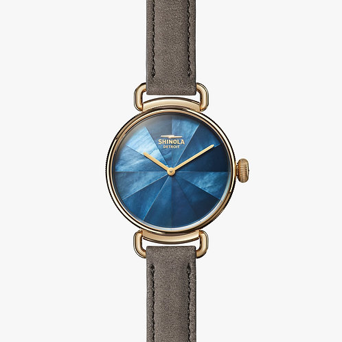 The Canfield 32mm Midnight Mother of Pearl